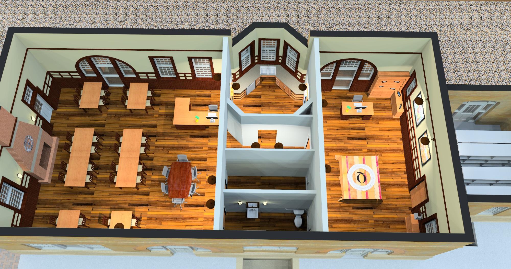 floor rendering 2
