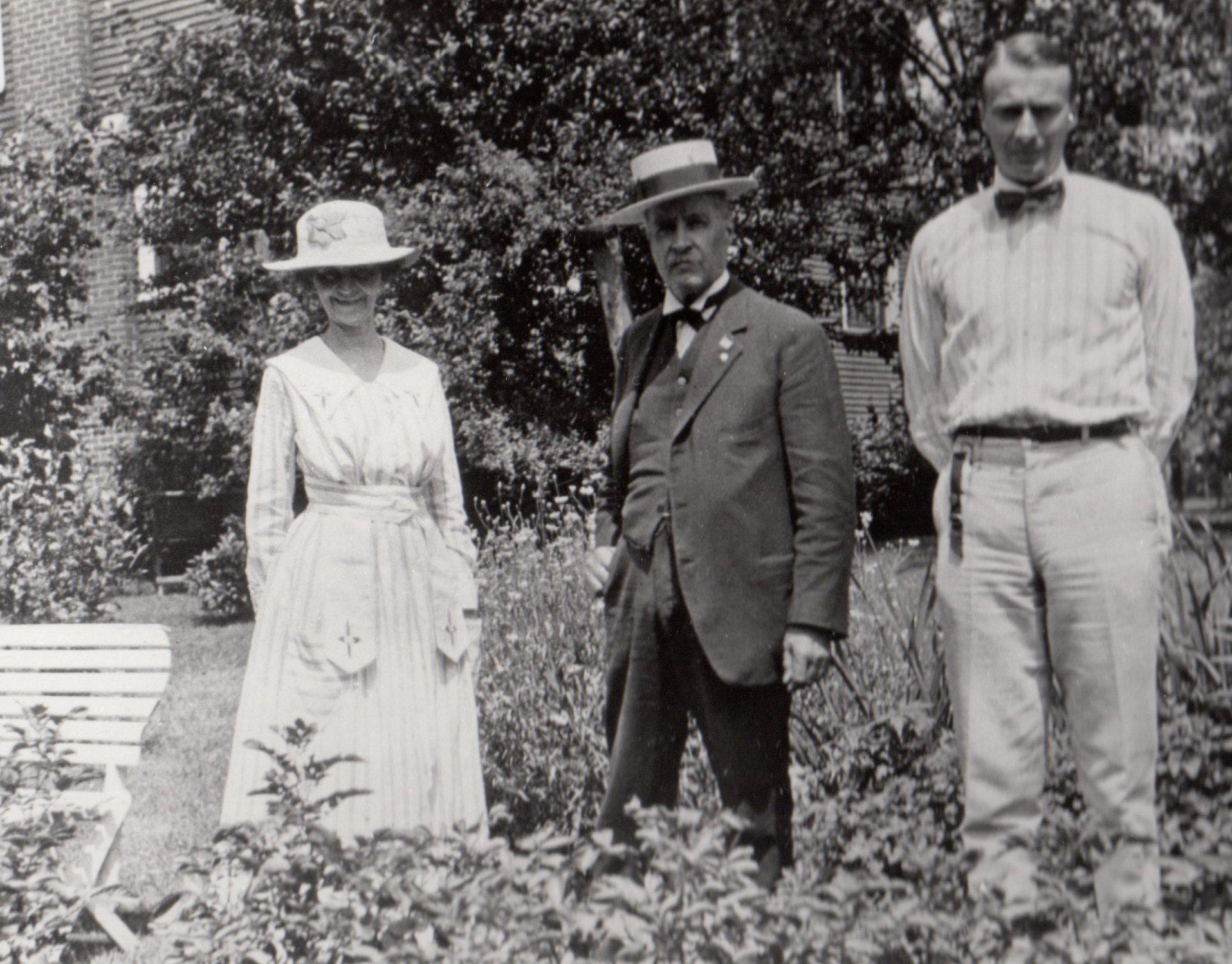 M&G in garden
